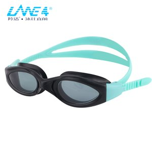 LANE4 Children Swimming Goggles Superior anti-fog coated curved lenses with UV Protection A954#Eyewear Q0112