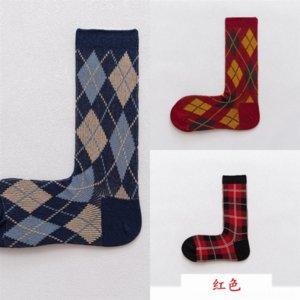 21VJ Tie-Dye 2019 Trend Strada Trend Street Socks Calzini in cotone e solido Donne Giapponese Autunno e Inverno Socks Dener Sock Shoe Color Uomo