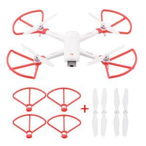 Fimi A3 Drone Parçaları CW CCW Pervaneler Koruyucu Yüzük Koruyucu Dikmeler Bıçaklar Drone RC Quadcopter Aksesuar Pervane Görevlisi