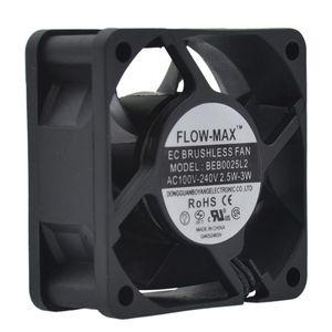 Fan refrigerador 6025 Silent Fan refrigerando Fin Radiador Refrigerador de Refrigeração PC Radiador Seguro Estável e confiável