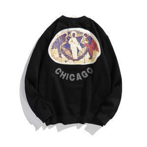 Kanye West 3d Foam Letter Stranger Things Hoodies Men And Women Fleece Streetwear Sweatshirt Hip Hop Oversize Hoody jlliRe bettine2010