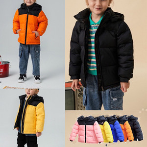 Childs Reversible Perrito Jacket Toddler Boys Girls Kids Reversible Mount Chimborazo Hoodies Down Coat Warm North Thick Overcoat