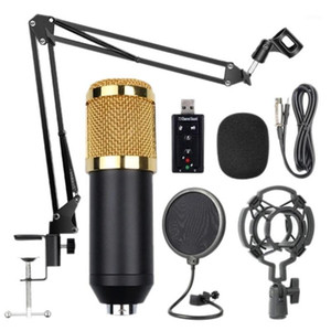 Bm800 Professional Suspension Microphone Kit Live Stream Broadcasting Recording Condenser Microphone Set1