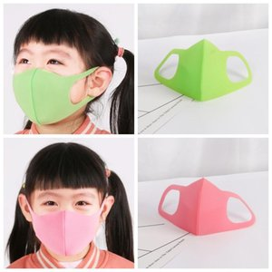 Factory! Kids Cycling Face Mask Respirator Dustproof Protective Mouth Mask Anti Pollen PM2.5 Children Face Masks 3pcs For Child Keep Clean