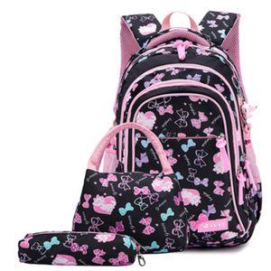 Ziranyu Bolsos de la escuela Niños Mochilas para adolescentes Chicas Ligeras Lightweight Bolsas Escolares Impermeables Niño Ortopedia Schoolbags Boys C0202