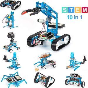 Makeblock DIY Ultimate Kit Premium Quality 10-IN-1 Robot Stem Образование Megapi - царапина 2.0 для детей, возраст 14+ LJ201210