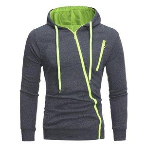 New Hoodies Men Brand Male Hoodie Sweatershirt Side Oblique Pull Sweatshirt Men Moletom Masculino Hoodies Slim Tracksuit NZ1630