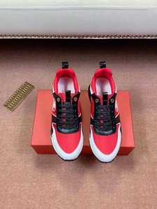 2020 Men Classic Leather Arena Flats Sneakers Male High Top Shoes Casual Lace Up With Box Dust