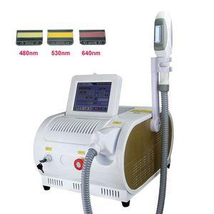 Hot vente Portable OPT SHR IPL Hair Removal Machine Soins de la peau Rajeunissement Whiteing Laser Machine Instrument de beauté