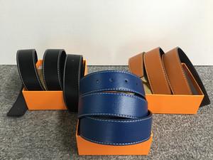 Cinturones de diseño de lujo para hombres Cinturones de mujer de hombre y cinturón de mujer con hebilla grande de moda superior de cuero de alta calidad