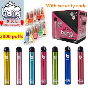 Auf Lager! Bang xxl Einweg Vape Feder-Kasten-Ausrüstung Kit Local Vape Starter Kit Einweg elektronische Cartridge 800mAh Batterie 2000 Puffs