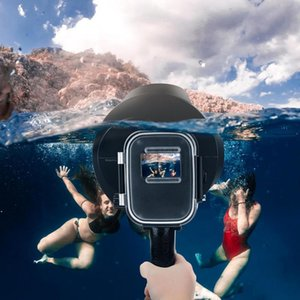 SHOOT new come diving dome for GOPRO HERO 7 6 5 filter magnifying lens sports camera fisheye cover