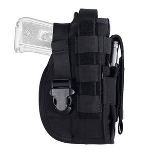 OHYP Shooting Fan Tactical Hunting Holster Bag Gun Multifunctional Molle Leg General Cover Waist Hanging Army Outdoor Dxnrb