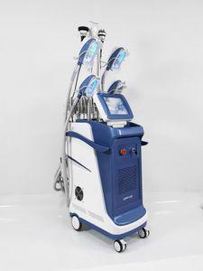 360 angle entourant minceur machine cryolipolysis Cryo + lipo laser + 40k + cavitation corps RF + visage perte de poids de gel RF enlèvement double menton