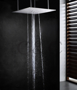 20 Inch Ceiling Mounted Stainless Steel Top Shower Bathroom Swash And Rain Shower Head jCdO#
