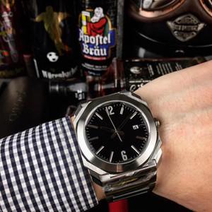 5 أنماط الرجال ووتش 38 ملليمتر الاتصال اوكسو سلسلة جودة عالية التلقائي الميكانيكية الياقوت الزجاج الفولاذ المقاوم للصدأ حزام 102105 bgo38c3ssd ساعة اليد