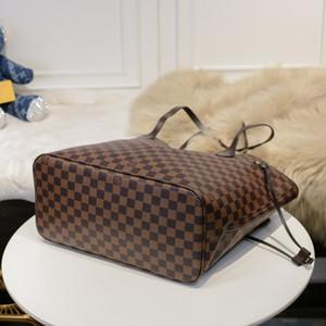 barato venda 2020 estilo quente de designer de moda em couro de luxo mulheres bolsa de alta qualidade Grátis senhoras Totes Bag 32CM mistura de cores