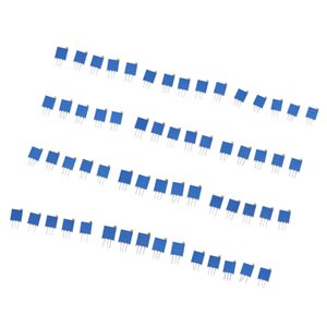 60 Pieces 12 Value 100 Ohm - 500K Ohm Variable Resistors Potentiometer Kit
