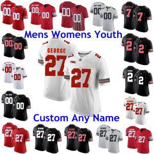 NCAA Ohio State Buckeyes Jerseys Archie Griffin Jersey Zach Harrison Master Teacuage III Jeremy Ruckert College Football Jerseys