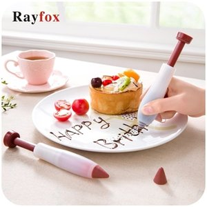 Kitchen Utensil Gadget Accessories Silicone Food Writing Pen Chocolate Cake Decorating Tools Cream Cup Kitchen Cooking Supplies