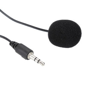 2020 Newly Mini Lavalier Mic 3.5mm Jack Tie Clip Microphones Smart Phone Recording Pc Clip-on Lapel For Spea jllZnk infant2005