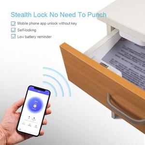 Electronic Bluetooth Lock App control File Lock shoe Storage Cabinet letter box Lock Door Drawer Furniture
