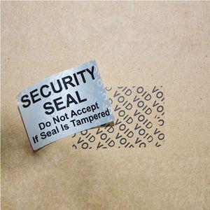 sigillo imballaggio progettato su misura 3D ologramma anti-contraffazione adesivi etichette / carta frangibile