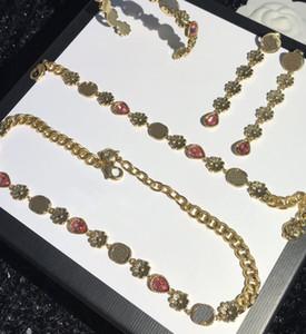 Chaud Selling Collier Boucles d'oreilles Bracelets Ensemble pour Bracelet à chaîne Femme Bracelet de haute qualité Bracelets Total Bracelets Vintage Fort