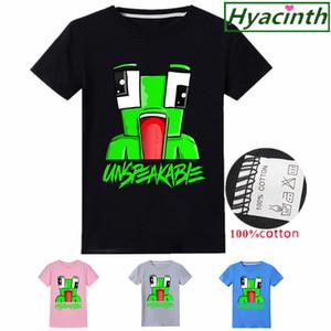 Morgz youtuber t shirt vlog ropa menino menino menino meninas de algodão camiseta roupas crianças preto camisetas meninos natal camisa y200704