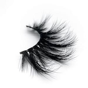 100 Mink Real Eyelash 25mm 3D Maquiagem Lash Soft Natural Longo Dramático Dramático Eyelashes Extension Eyelash Tools 15 estilos Atacado