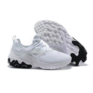 Mens Presto Running Shoes Reagir Womens Gym Lightweight Sneakers na moda Trainers caminhada Tamanho 36-45 Masculino Feminino