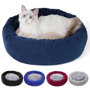 Pet mat ninho inverno ninho gato quatro estações cão gato de estimação universal almofada de pelúcia mat pet cama quente