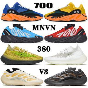 Zapatos yeezy boost MNVN 700 v3 380 kanye west yezzy yeezys Azareth Runner Azael Alvah Alien Mist Carbon Vanta Zapatillas para correr hombre mujer Zapatillas deportivas