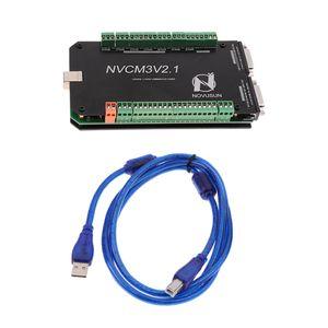 CNC MACH3의 USB 3 축 16I 160 스테퍼 모션 컨트롤러 카드 브레이크 아웃 보드
