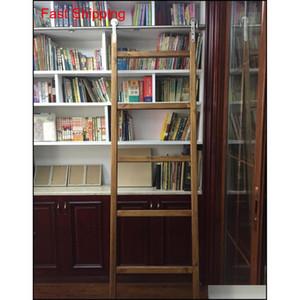 الفولاذ المقاوم للصدأ انزلاق مكتبة سلم الأجهزة انزلاق حظيرة سلم مكتبة سلم Hardwar Qyleow Packing2010