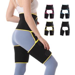 Women Sweat Waist Trainer Sport Girdle Belt Thigh Trimmer BuLifter Hip Enhancer Body Shaper for Workout Slimming Support