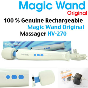 Waterproof Magic Wand Massager HV270 AV Powerful Vibrator Rechargeable Personal Full Body Massagers HV-270 110-250V US EU AU UK Plug
