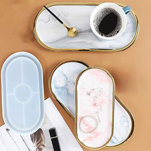 Cup Mat Chocolate Cake Dish Mold Flower Plate Molds Epoxy Resin Crafts Blossom Tray Epoxy Resin Crafts Personalised Tray DIY Gifts XTL387