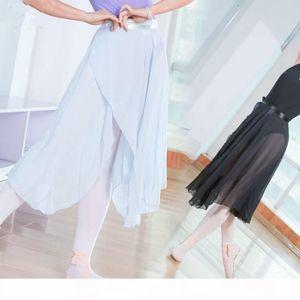 2018 New Skate Summer Chiffon Elastic Ballet Dance Tulle Skirt adult Tutu Ballerina Infantil Gymnastics Leotard For Sale women