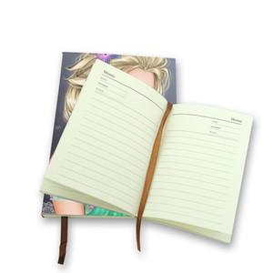 A6 A5 حجم دفتر التسامي الفراغات الاستهلاكية مع أقراص شريط مزدوجة على الوجهين كوهة القابلة للطباعة رسم Office Notepad Office 27JY3 N2