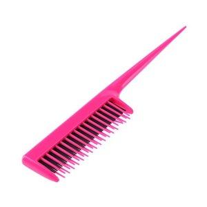 Pro Tip Heckkamm für Salon Friseurbereich Doppelschicht Feine Zähne Kamm SQCYQQ