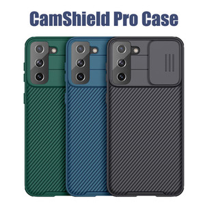 Nillkin Camshield Camera Lens Protection Case For Samsung Galaxy Note20 Ultra S20 FE S20 S21 Ultra A71 A51 iPhone 12 11 Pro Max