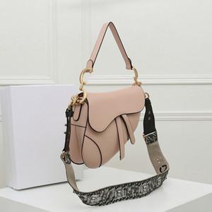عالية الجودة الأفاق الإبط أكياس الكتف الأزياء جلد طبيعي السرج حقيبة حمل مصمم الفاخرة ميدل القمر شكل المرأة حقيبة يد المرأة