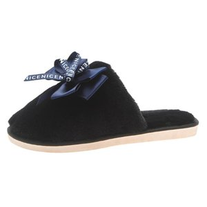slippers women shoes woman's Home Slipper Winter Non-Slip Flat Closed Toe Shoes Casual House women slippers chaussures femme