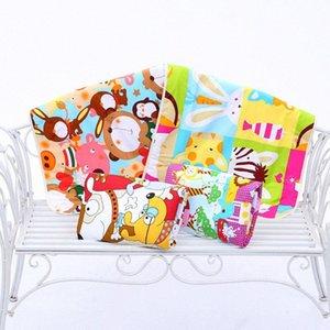 Детские Изменение Pad 3-слойный лист Моча Pad мультфильм печатных Младенческая водонепроницаемый матрас Мат Пеленки хлопок подгузников кровать случайный цвет Cz9t #
