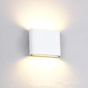 1pcs 16w dimmable Wall Light Cob Led Wall Lamps IP65 Indoor And Outdoor Mounted Light Ac85-265v For Living Room Bedr