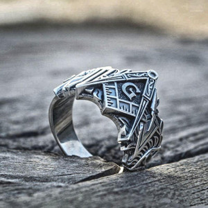 Eyhimd Men Freeмазонные кольца из нержавеющей стали Масонские символы кольца Mainsonry Knights Templar Jewelry1