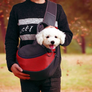 Pet Dog Cat breathable nylon Carrier Shoulder Bag Front Comfort Travels Tote Single Shoulder Bag Pet Supplies will and sandy Drop Ship