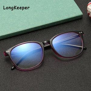 Frauen unisex gläser blau schwarz gläser rahmen computer hellblau light blockierung gaming brille anti spectacles brillen männer mskwq