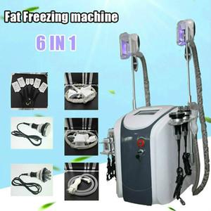 Cryolipolysize Fit замораживание Coolsculpting Machine талии для похудения кавитация RF машина для уменьшения жира Lipo Lizer 3 Cryo Heads Работает вместе